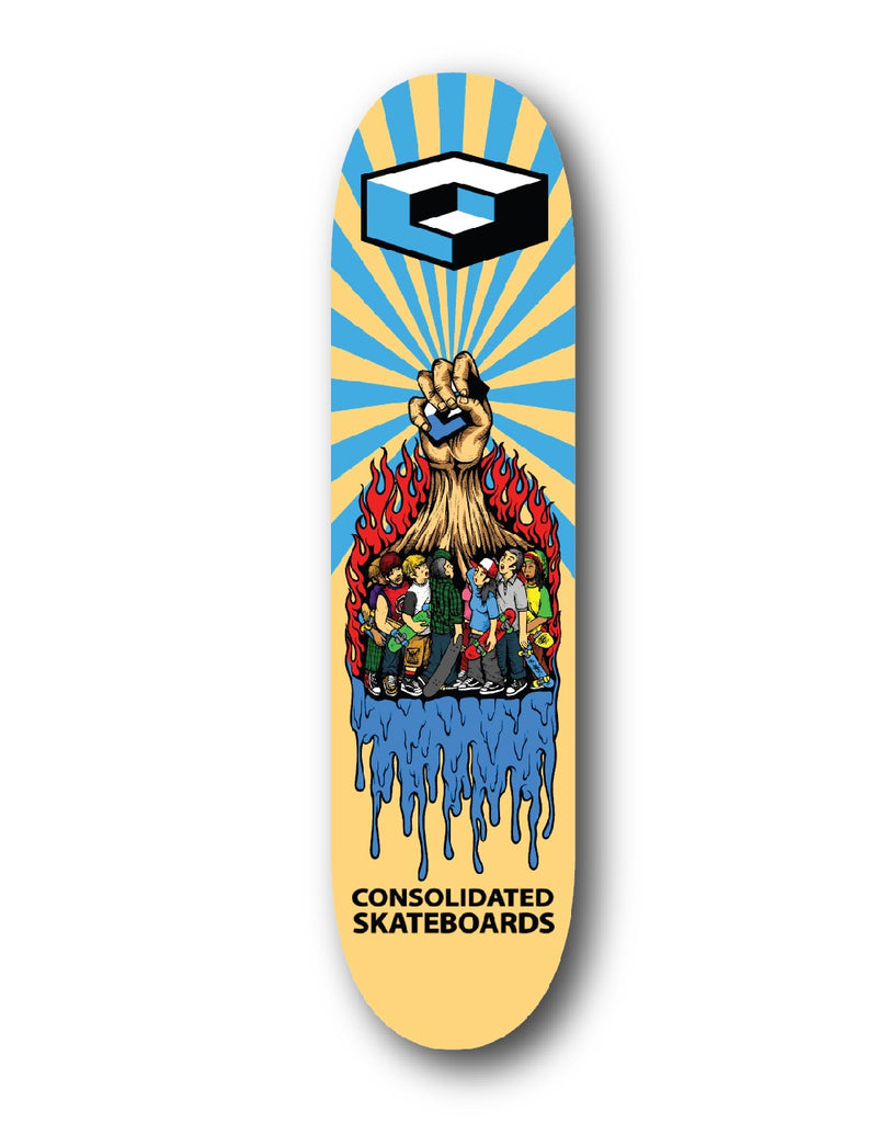 Rise Up Deck 8.75""