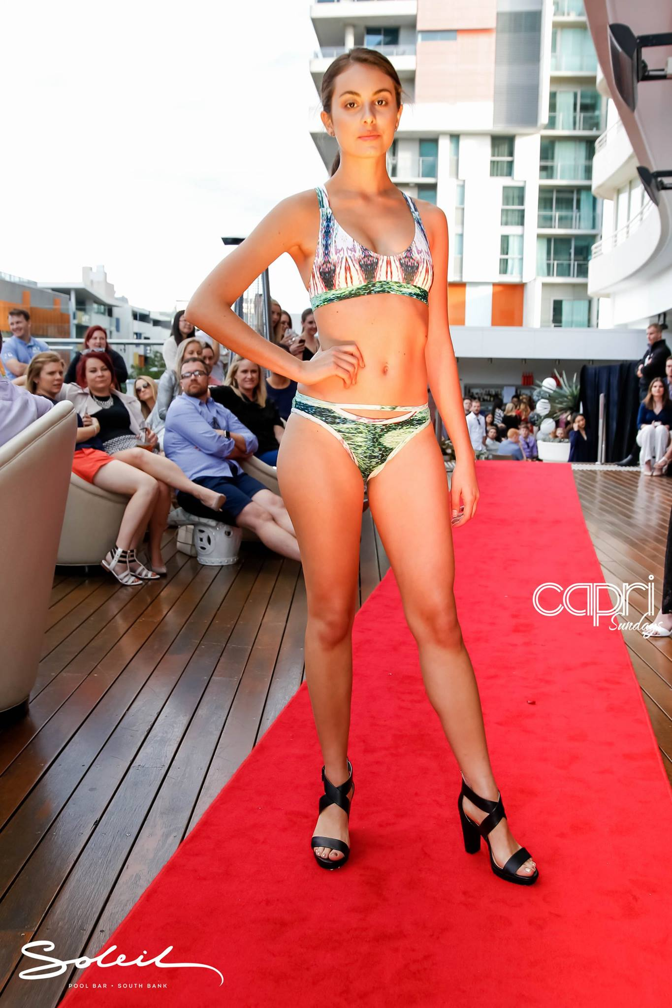 Capri Sundays Roof Top Fashion Runway September AlcieMay Designs Australian Fashion Emerging