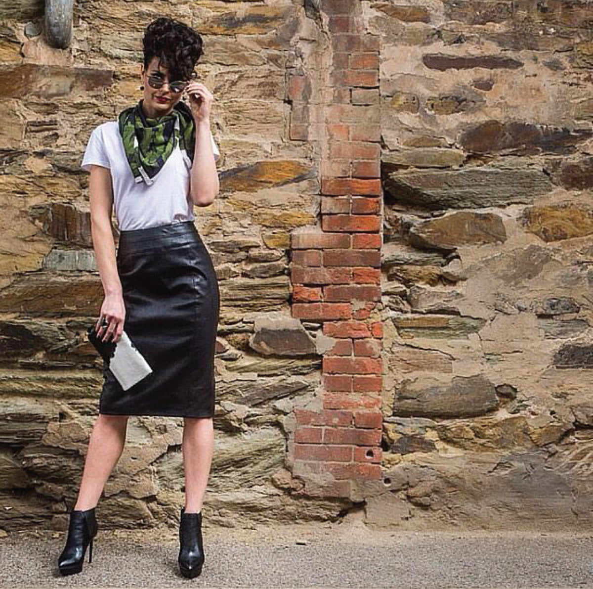 Shop The Dress Collective's range of Adelaide emerging, sustainable and ethical fashion designer Don't Do Pretty for Australian made leather skirts and womenswear
