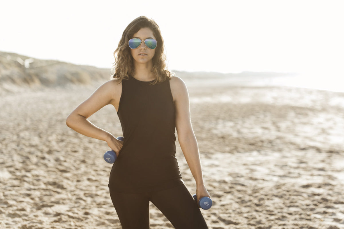 Shop The Dress Collective's range of Sydney emerging, sustainable and ethical fashion designer Gabdala for Australian made activewear and sportswear