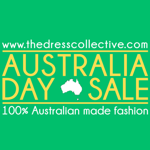 Australia Day Sale at The Dress Collective