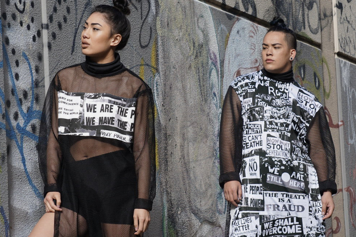 BEHIND THE BRAND: WE INTERVIEW LEILANI FONOTI, DESIGNER OF UNISEX LABEL BLACK MOB