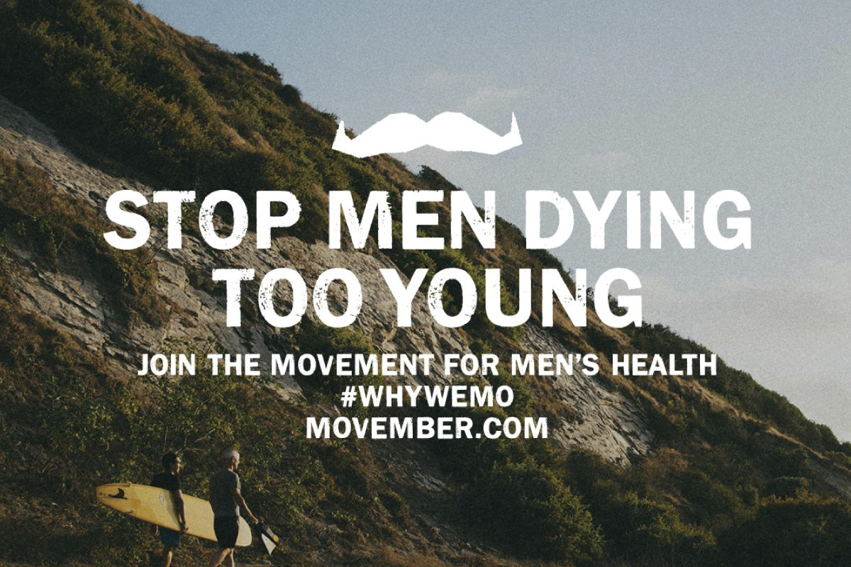 SHOP TO SUPPORT MOVEMBER AND PROMOTE MENS HEALTH WITH THE DRESS COLLECTIVE