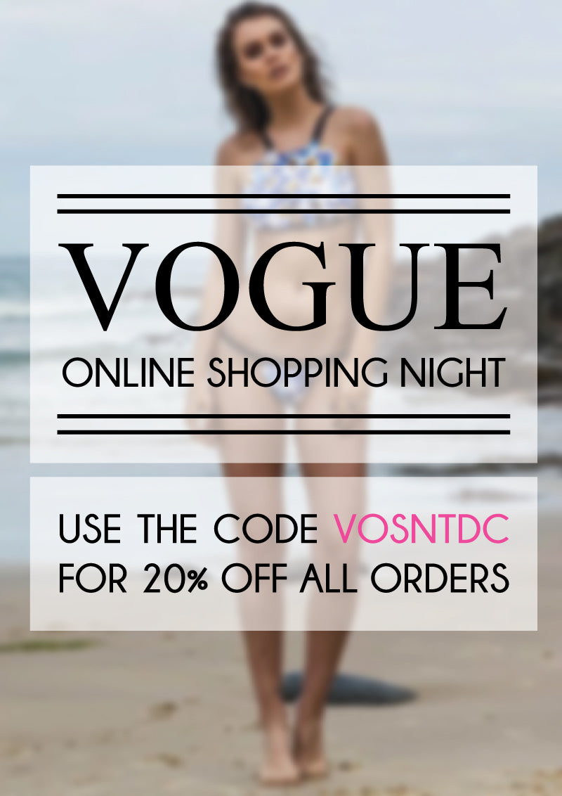 Vogue Online Shopping Night at The Dress Collective