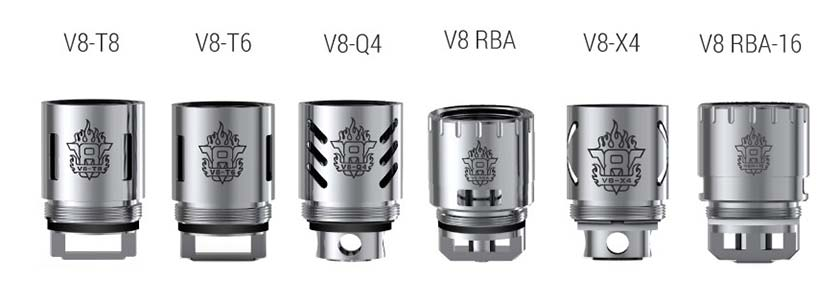The SMOKTech TFV8 Cloud Beast Tank Coils