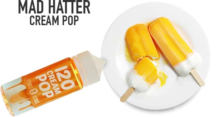 Cream Pop E-Juice by Mad Hatter