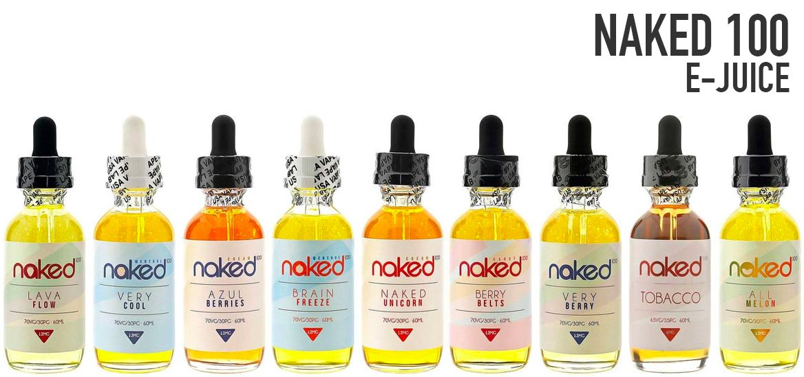 E-Juice by Naked 100