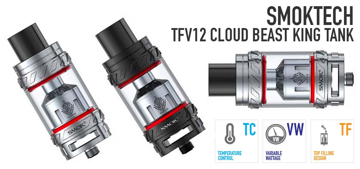 SMOKTech TFV12 Cloud Beast King Tank