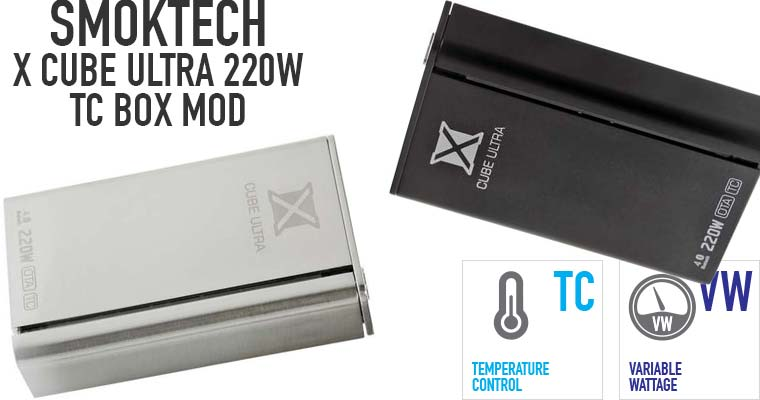 SMOKTech X Cube Ultra 220W TC BOX MOD