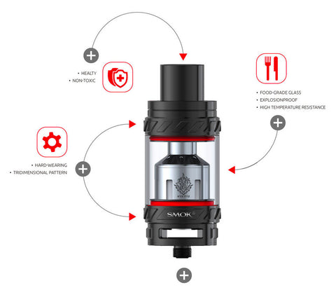 SMOK TFV12 Cloud Beast King Tank Features