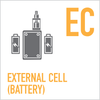 External Cell Eleaf Invoke 220W TC Kit with Ello T Tank