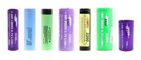 Vape Tutorial Beginner's Guide to Vaping Batteries