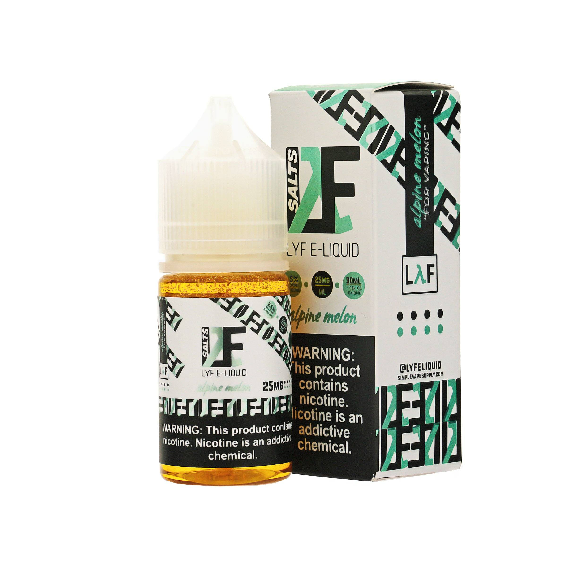 Alpine Melon E-Liquid by LYF Salts