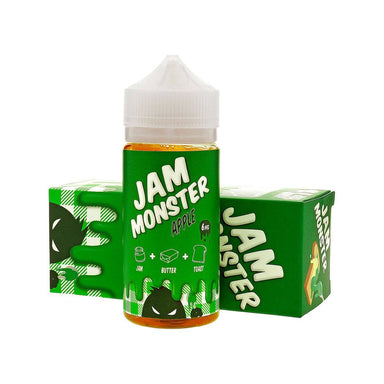 E-Juice - Apple E-Juice 100ml By Jam Monster