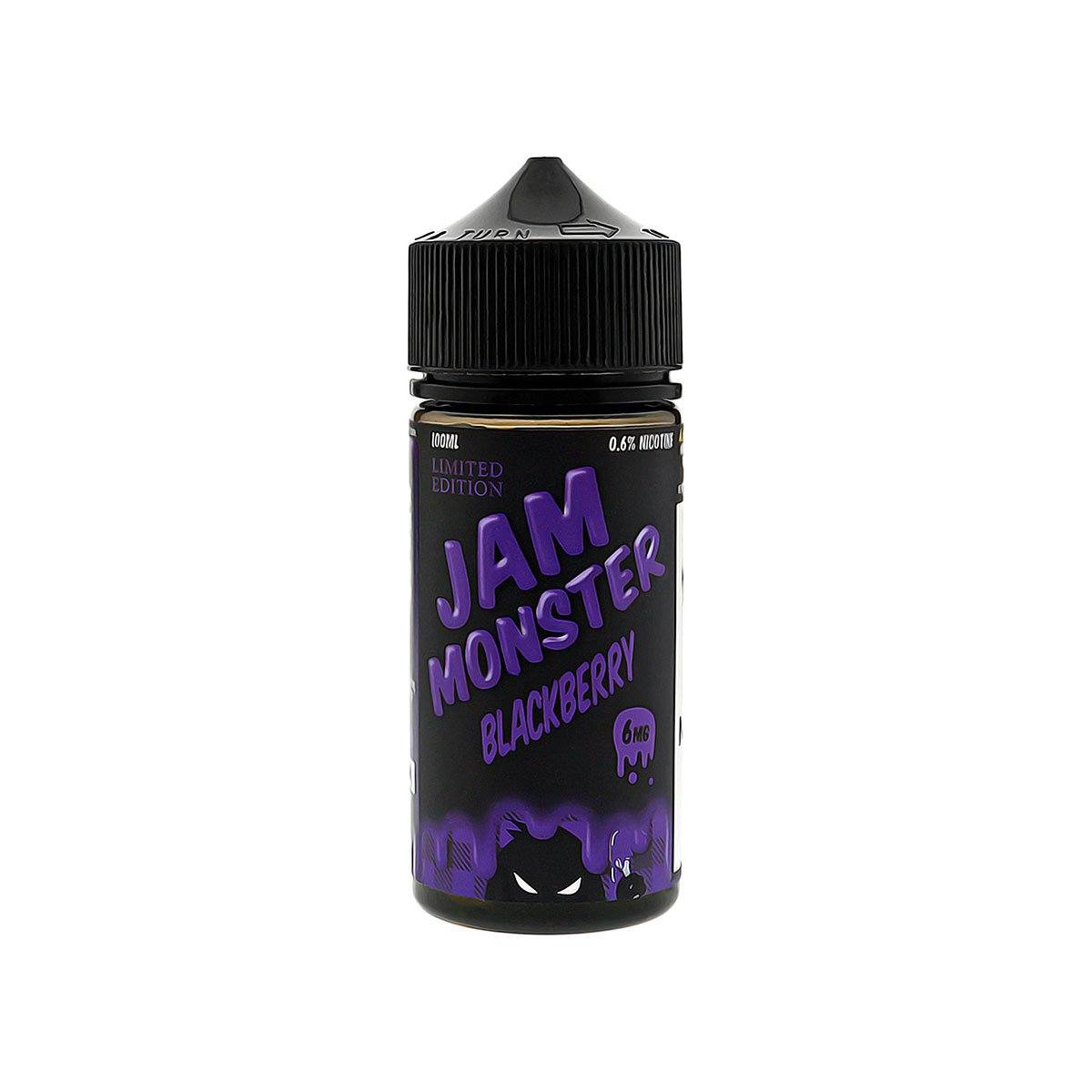 Jam Monster Blackberry E-Juice Bottle