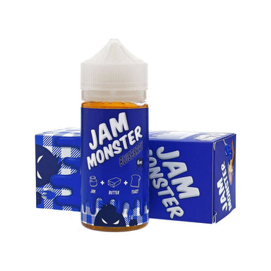 E-Juice - Blueberry E-Juice 100ml By Jam Monster