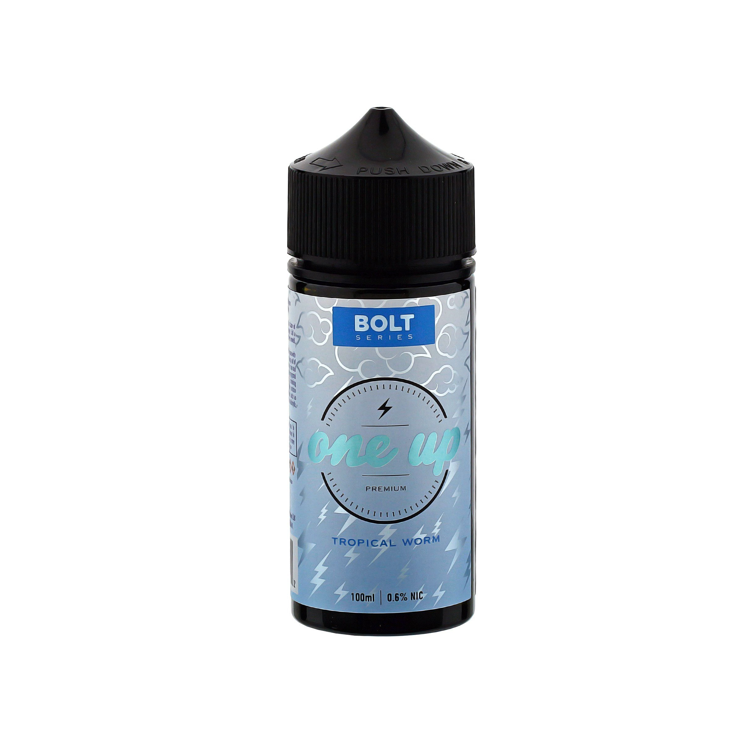 Bolt Series - Tropical Worm E-Juice by One Up Vapor Bottle