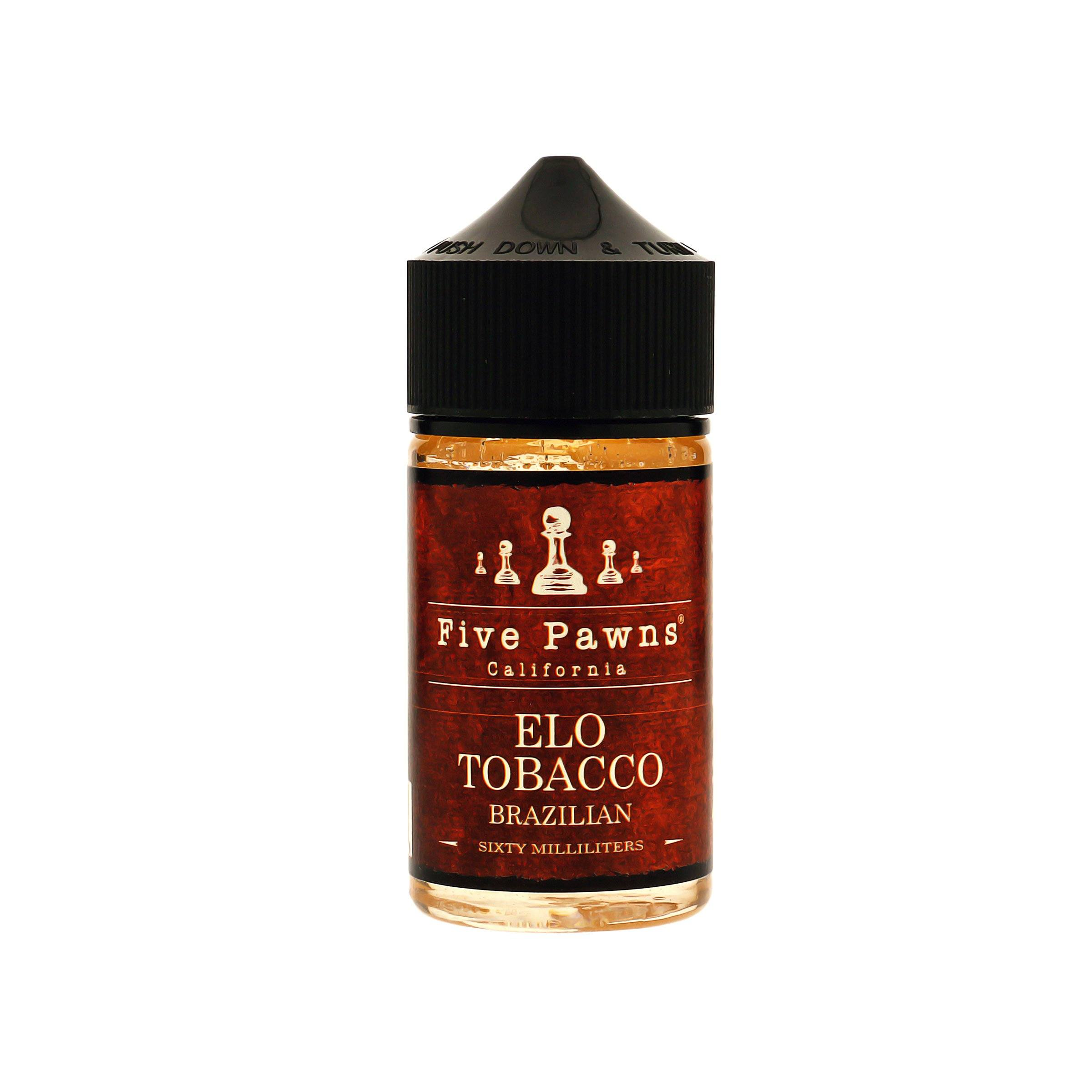 Elo Tobacco E-Juice by Five Pawns