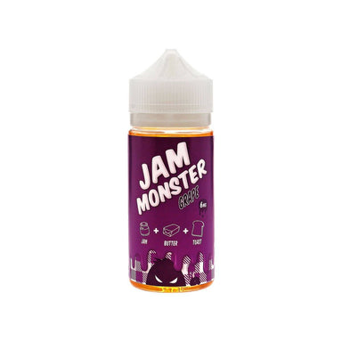 E-Juice - Grape E-Juice 100ml By Jam Monster