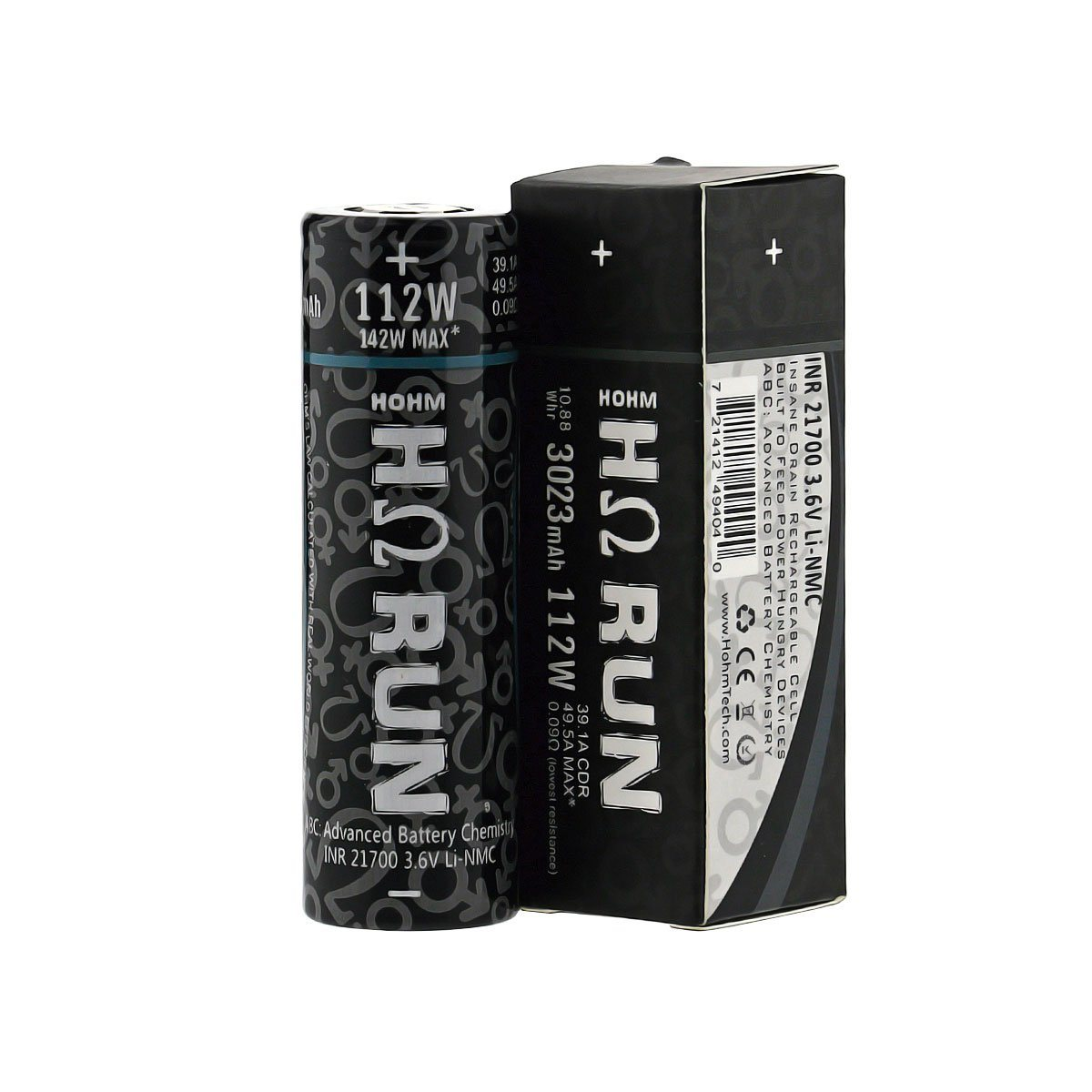 Hohm Tech Hohm RUN 21700 3023mAh Battery