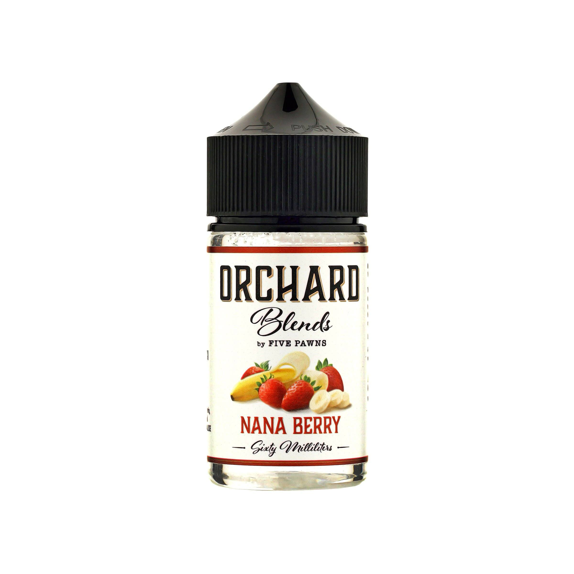 Orchard Blends Nana Berry E-Juice by Five Pawns