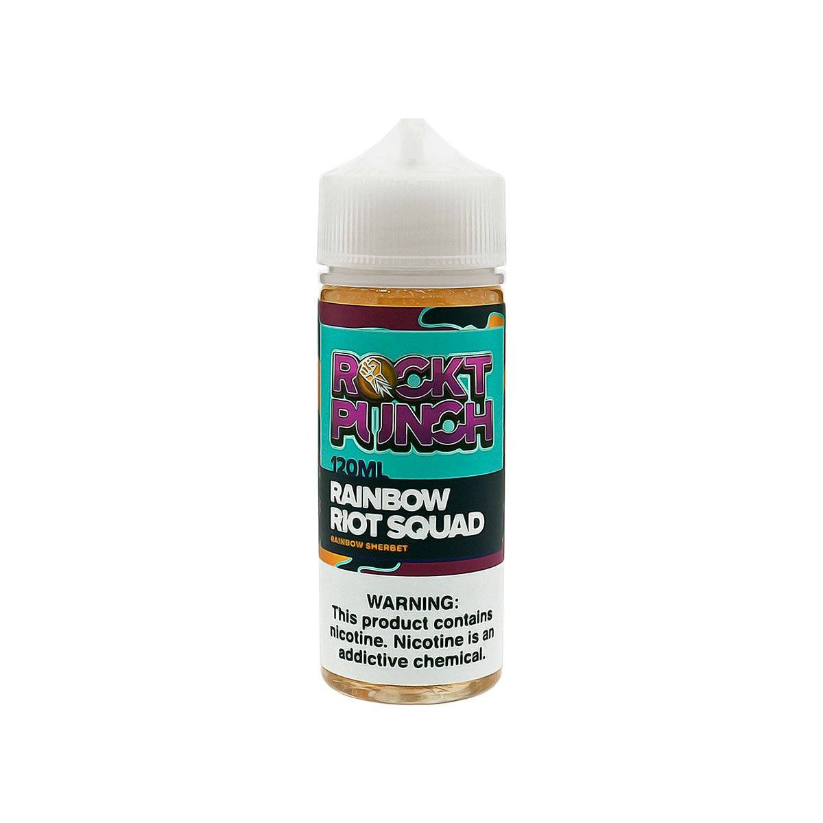 ROCKT PUNCH Rainbow Riot Squad E-Juice Bottle