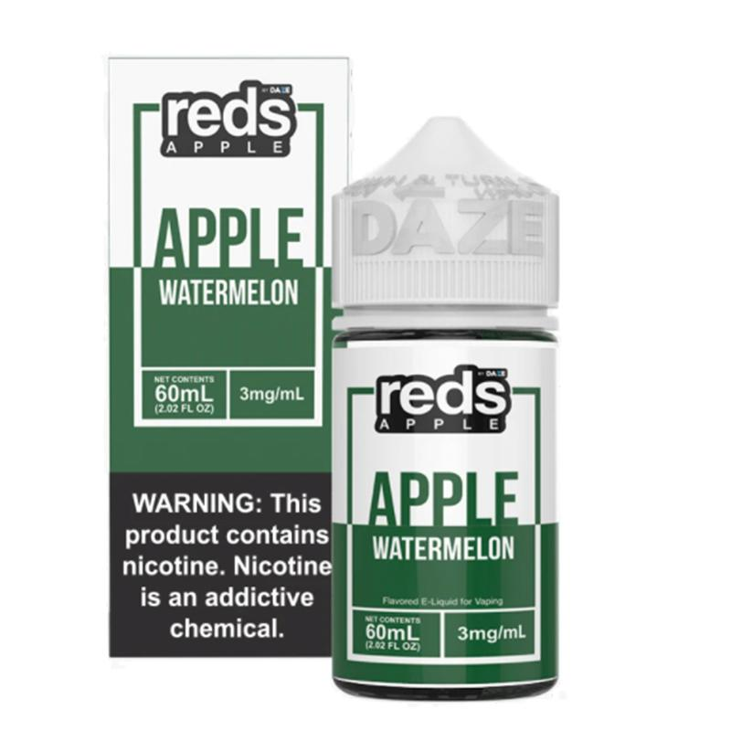 7daze reds apple watermelon 60ml box bottle