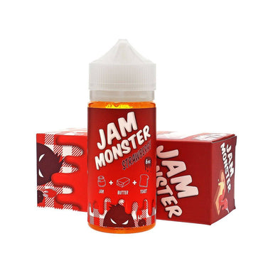 E-Juice - Strawberry E-Juice 100ml By Jam Monster