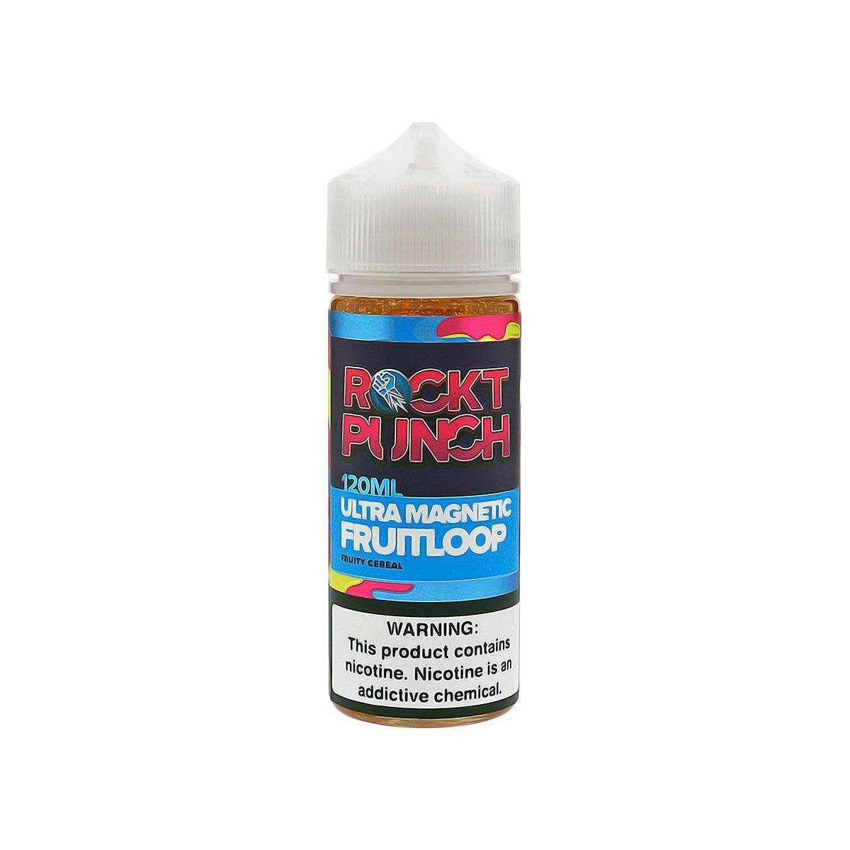 ROCKT PUNCH Magnetic Fruit Loop E-Juice Bottle