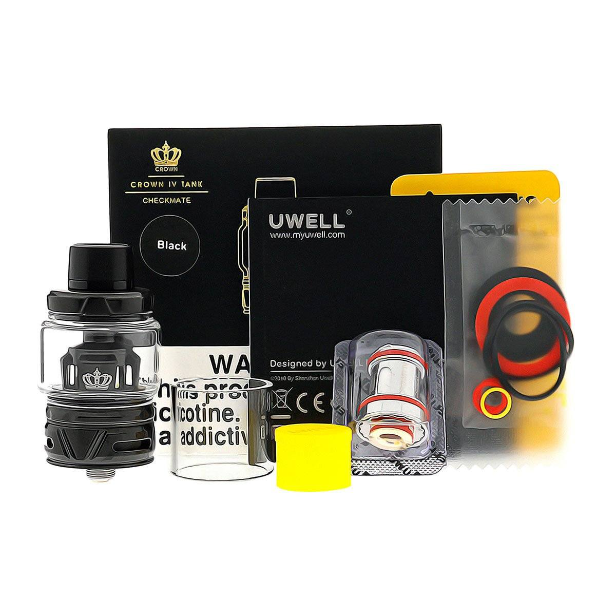Uwell Crown 4 Sub-Ohm Tank Package Contents