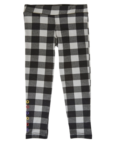 Hipster Check Plaid Leggings