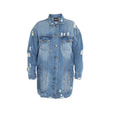 Maxi Denim Jacket