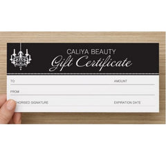 Caliya Beauty | Lash and Brow Specialists | Gift Certificate