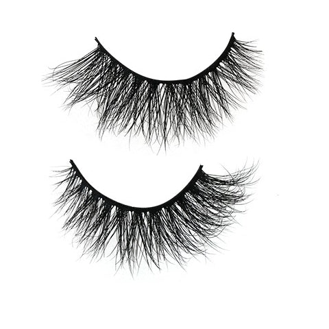 Faux Mink Eyelashes | Gemstone Collection | Amber