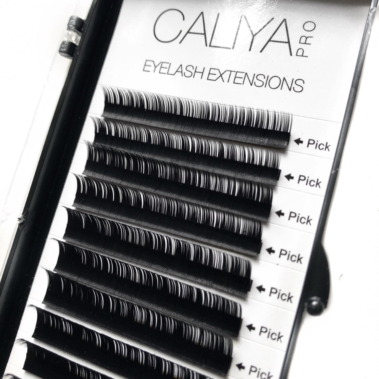 Faux Silk Eyelash Extensions | Mixed (8-13mm) | C Curl | 0.03