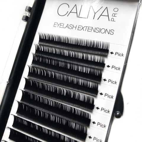 Faux Silk Eyelash Extensions | Mixed (6-12mm) | D Curl | 0.07