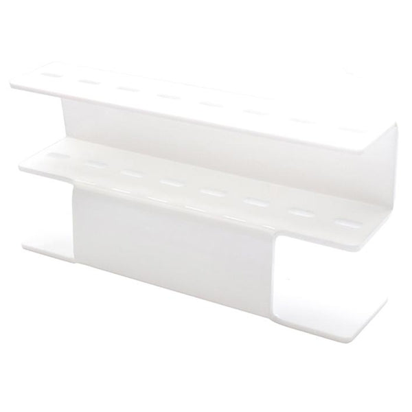 Freestanding Tweezer Display/Storage Stand | Glossy White | Acrylic | 8pc