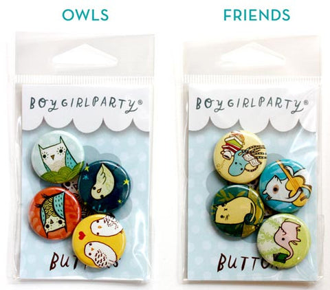 Button Sets by Susie Ghahremani / boygirlparty.com