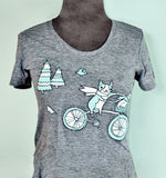 Bike Animals Tshirt by Susie Ghahremani / boygirlparty.com