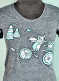 Bike T-shirt by Susie Ghahremani / boygirlparty.com