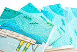 Boat - Blank Notecard Set (Set of 4)