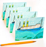 Boat Notecard Set by Susie Ghahremani / boygirlparty.com