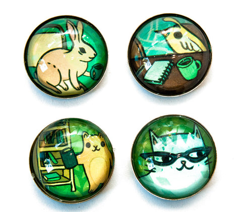 Working Animals Magnet Set by Susie Ghahremani / boygirlparty.com