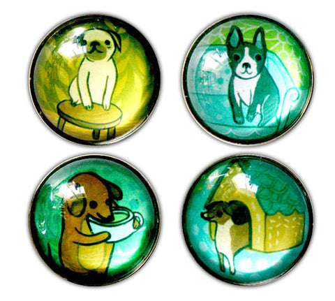 Dog Magnet Set by Susie Ghahremani / boygirlparty.com