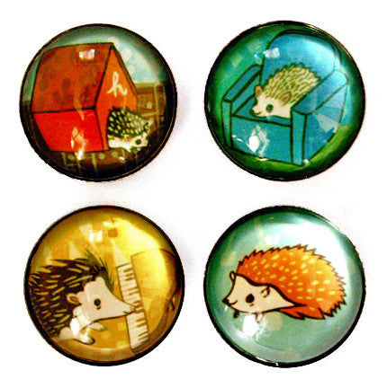 Hedgehog Magnet Set by Susie Ghahremani / boygirlparty.com