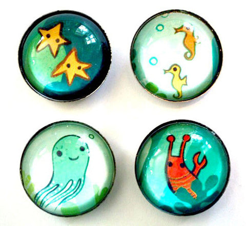 Undersea Magnet Set by Susie Ghahremani / boygirlparty.com