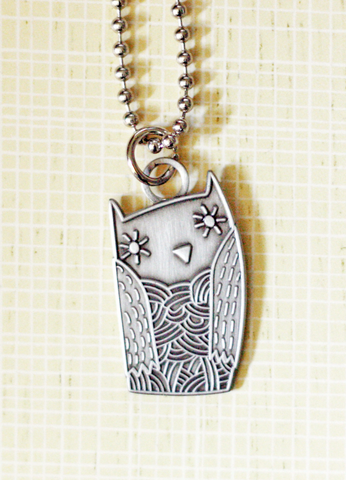 Boygirlparty Owl Necklace - shop.boygirlparty.com