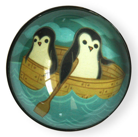 Rowboat Penguin Magnet by Susie Ghahremani / boygirlparty.com