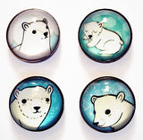 Polar Bear Magnet Set by Susie Ghahremani / boygirlparty.com