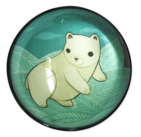 Polar Bear Magnet by Susie Ghahremani / boygirlparty.com
